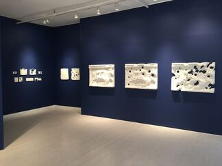 PIERS SECUNDA: ISIS Bullet Holes Paintings, installation view