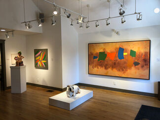 Pure Joy: William Perehudoff and Dorothy Knowles, installation view