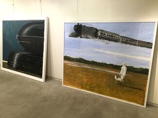 An Homage to Julio Larraz, installation view