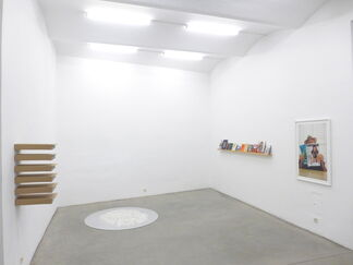 books + papers, installation view