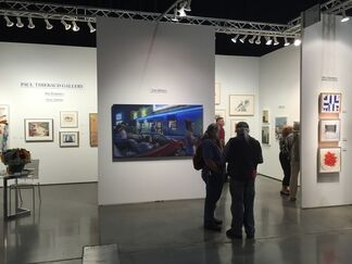 Paul Thiebaud Gallery at Seattle Art Fair 2017, installation view