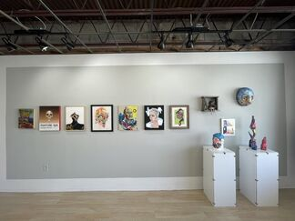 What's in a face, installation view