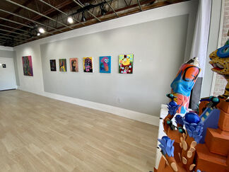 What a weird time to be alive, installation view