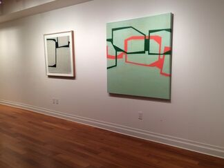 Steven Baris: Mobility of Frames, installation view