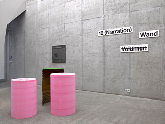 HEINRICH DUNST - Dämmstoffe, installation view