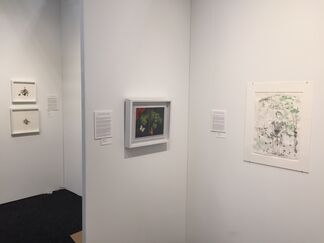 Nancy Hoffman Gallery at Art on Paper New York 2018, installation view