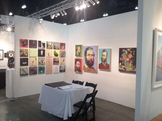 Sloan Fine Art at LA Art Show, installation view