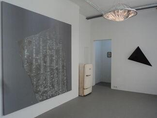 """""""Ein weißes Feld"""" - Gregor Hildebrandt curates out of the sammlung FIEDE, installation view"""