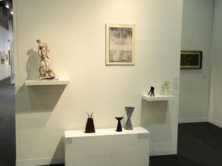 Repetto Gallery at The Armory Show 2014, installation view