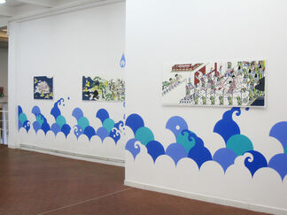 Asuka Ohsawa - Space Invaders: The next generation, installation view