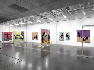 Diedrick Brackens: darling divined, installation view