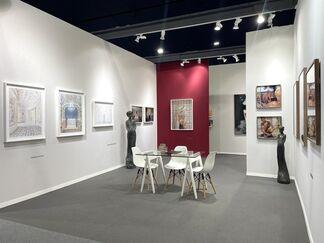 Galerie XII at Art Paris 2021, installation view