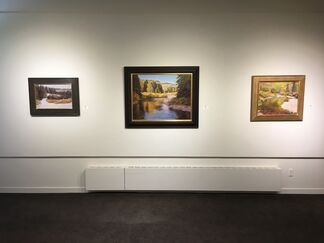 John Taft, Solo Exhibition, New Western Landscapes, installation view