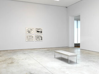 Sean Scully: Wall of Light Cubed, installation view