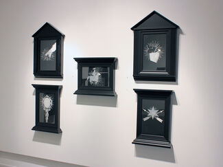 Cartomancy: Recent Drawings by Shay Bredimus- The Seni Horoscope Re-Imagined in Tattoo Ink, installation view