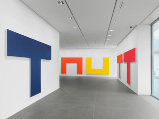 Olivier Mosset 'The Kitchen Paintings', installation view