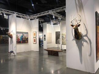 Gail Severn Gallery at Seattle Art Fair 2018, installation view