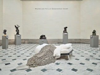 Urs Fischer: The Public & the Private, installation view
