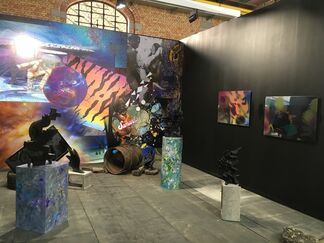 Grimmuseum at Art Brussels 2017, installation view