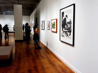 Printer's Proof: Thirty Years at Wingate Studio, installation view