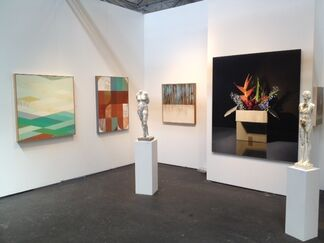 Julie Nester Gallery at artMRKT San Francisco 2015, installation view