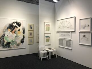 Artemisa Gallery at Art on Paper New York 2018, installation view