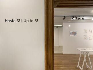 Hasta 3! / Up to 3!, installation view