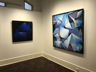Zac Kourkoravas: Blue Lines, installation view