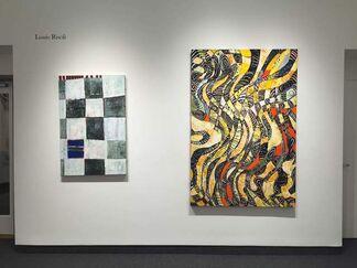 "Robert Ferrandini ""New Watercolors"" / Louis Risoli ""New Paintings"", installation view"