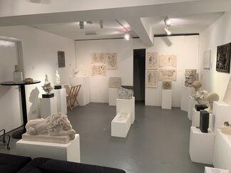 Second Annual Exhibition of Stonemasonry, installation view