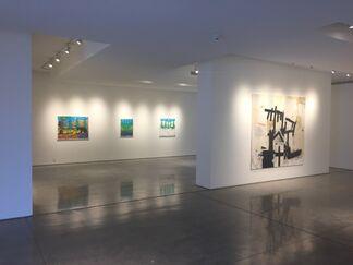 Bill Braun, Jerry Iverson, and John Randall Nelson, installation view