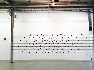 Group exhibition Ton Slits, Vera Hilger en Klaus Dauven, installation view