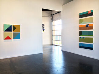 Gail Peter Borden: Faceted Line, installation view