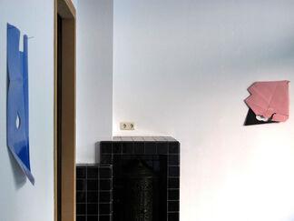 boogje boogje lijn lijn kleur vlak punt. - Solo Show by Paul Drissen, installation view