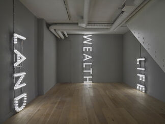 Nathan Coley, installation view