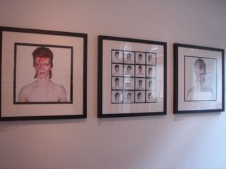 """""""A Lad Insane"""", Photographs of Bowie by Duffy, installation view"""