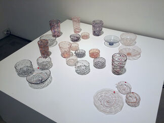 A Lucid Dream: Glass Works from Korea and Japan, installation view
