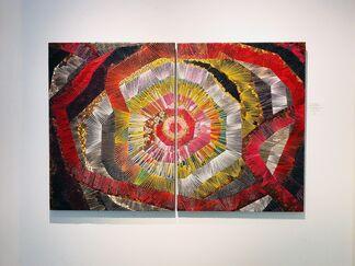 Between The Lines: Recent Work By Naoko Morisawa & James Wills, installation view