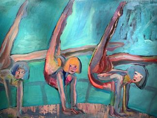"""Self Seduction"", installation view"