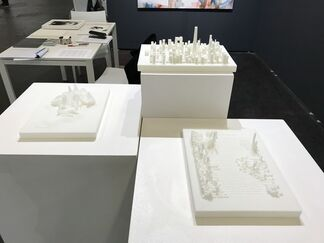 re.riddle at UNTITLED, San Francisco 2018, installation view