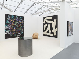 Paul Kasmin Gallery at Frieze New York 2015, installation view