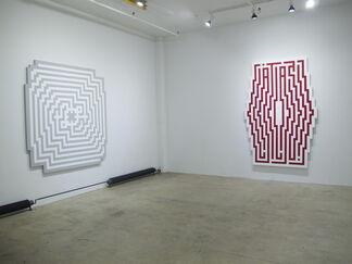 SHAPES Solo Exhibititon by L'ATLAS, installation view