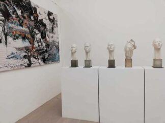 Art Sablon at Fair For Saatchi 2019, installation view