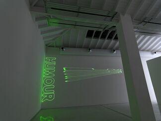 "Arthur Duff - ""In Hiding"", installation view"