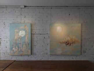 La lune blanche, installation view