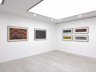 Serra / LeWitt, installation view