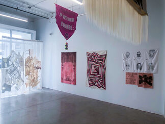 40 Women Pulling at the Threads of Social Discourse: FAMA + Guests, installation view