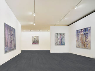 A Look Into Pezhman's World, installation view