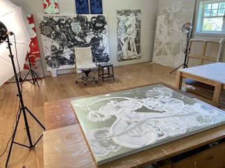 NEW YORK DIGITAL EXHIBITION: Catherine Howe, New Works, installation view
