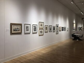 The Influence of the American Regionalist Movement, installation view